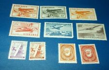Cameroon France Occupation Lot Airmail Postage Due Stamps Mint Hinged MH BOB
