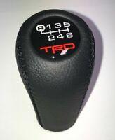TRD Shift Knob For Toyota Tacoma Prado Land Cruiser Celica MR2 XRS 6 speed BLACK