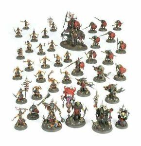 Warhammer - DOMINION Kruleboyz 39 miniatures HALF