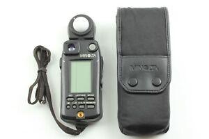 🔹N MINT w/Case & Strap🔹 Minolta Flash Meter VI Light Meter from Japan