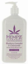 Hempz Blueberry  Lavendar & Camomile Moisturizer.  17oz with mini