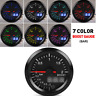 "2"" Auto Car Turbo Boost Gauge Pointer Digital LED Display BAR 12V Pressure Meter"