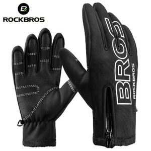 Winter Cycling Hiking Outdoor Sports Gloves Touch Screen Warm Men Women Gloves