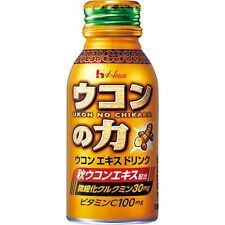 Ukon no Chikara Energy Drinks 100ml x 6 F/S House Wellness Foods Japan