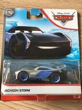 Cars 3 Disney Pixar Jackson Storm 2017 minilibro RARISSIMO Mattel 1/55 Maclama