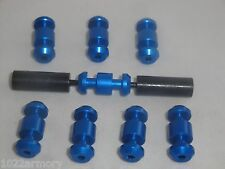 S&W MP 15-22 Armorer's Pack - Loading tool and 8 BLUE loading assist buttons