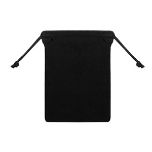 "25pcs Black 3""x4"" Jewelry Pouches Velvet Gift Bags"
