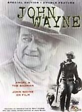 John Wayne Double Feature: Angel & the Badman/ John Wayne on Film (DVD, 1999)