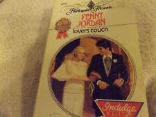 Harlequin Presents Lover's Touch Penny Jordan #1216 In Series Paperback 1989