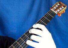 Guitar Glove, Bass Glove, Musician's Practice Glove 2PACK -M- WHITE