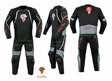 Lionstar Leo Motorbike Motorcycle Leather Racing Suit with CE Approved Armours