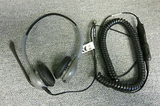 Plantronics H46NT Supraplus Windeband Office Sliver Two Eared Binaural Headset
