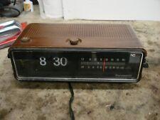 Panasonic Vintage Clock Radio-Flip Numbers