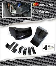 Dry Carbon Fiber Front Brake Cooling Air Guides for Nissan GTR Skyline GT-R R35