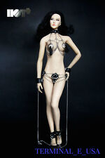 1/6 Fetish Fantasy Sexual Role Play Chain Suit Set For Phicen Hot Toys ❶USA❶