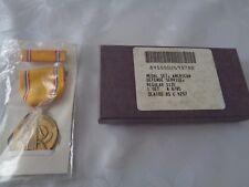 ^ us medalla WWII american defense Medal en la caja, última concesión 1985