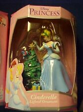 Enesco Disney's Cinderella by the Christmas tree