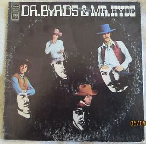 The Byrds - Dr Byrds and Mr Hyde - USA Columbia LP - EX