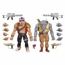 NECA Teenage Mutant Ninja Turtles - Rocksteady & Bebop Action Figure 2-pack