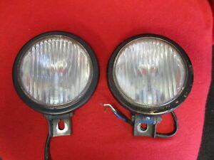 USED Porsche 914-4 & 6 1970-74 Fog Light assemblies 914-631-134-11 ORIGINAL PAIR