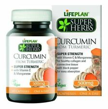 Lifeplan Super Herbs Curcumin - Super Strength 500mg 60 Caps