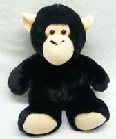 "K&M International FLOPPY SOFT BLACK AND TAN APE MONKEY 11"" Plush Stuffed Animal"