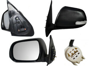 For 2012 - 2015 Tacoma Power Signal Light Paintable Cap Driver Left Side Mirror
