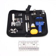 Uhrenwerkzeug Set Uhrmacher Uhrmacherwerkzeug Reparaturset Tasche Uhrwerkzeug