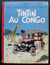TINTIN/ TINTIN AU CONGO/ Edition originale B 1/ 1946/ Etat correct+