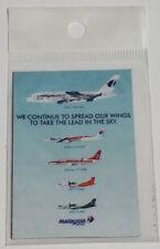 Fridge Magnet Malaysia Airlines Fleet Aeroplane Airplane Flight Aviation
