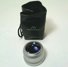 Merkury Innovations 37mm HIGH Defintion Camera Lens Wide Angle w/ drawstring bag