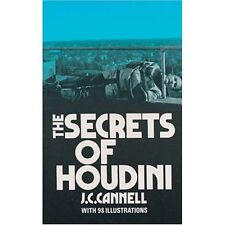 BRAND NEW BOOK - The Secrets of Houdini (Paperback) by J.C. Cannell