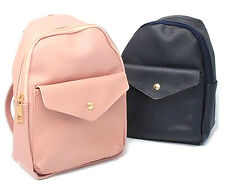 Vegan Leather Backpack Ladies Womens Fashion Bag Backpack Travel Bags