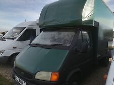 Ford Transit Luton Box Van with Tail Lift. Spares or Repair