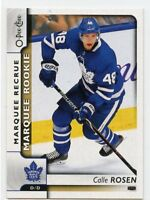 17/18 O-PEE-CHEE OPC ROOKIE RC #637 CALLE ROSEN MAPLE LEAFS *46423