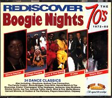 BOOGIE NIGHTS -The Best Of 70s Dance/Soul 2-CD (1972-80) Old Gold (Evelyn King)