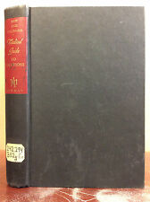 MEDICAL GUIDE TO VOCATIONS By Rene Biot, M.D. and Pierre Galimard, M.D - 1955