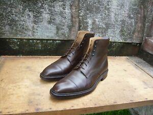 CROCKETT & JONES MEN'S BOOTS – BROWN – UK 10 –  NORTHCOTE – SUPERB CONDITION