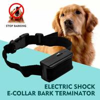 Collare Antiabbaio Per Addestramento Cani Cane AntiAbbaio Scossa Elettrica