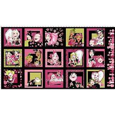 Loralie Love Your LOOK Salon Panel Black Fabric 24x44 Loralie Designs