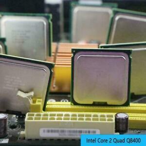 Core 2 Quad Q8400 Quad-Core CPU 2.66 GHz 1333 MHz LGA 775 Socket! D3N6