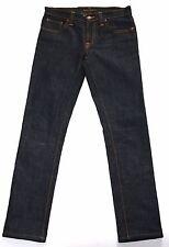 Brand New Nudie Tube Kelly 5 Pocket Dark Skinny Jeans Size 28
