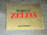 The Legend of Zelda Instruction Manual Booklet Nintendo Nes Authentic