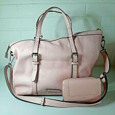 Esprit pink handbag & wallet, sac à main & portefeuille rose, Tasche, handtas