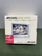 New ListingArchos 605 Wifi 80 Gb Digital Media Player Movies Photos Music Tv mp3 Web Browse