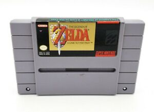 Zelda A Link to the Past SNES Super Nintendo Original AUTHENTIC Tested