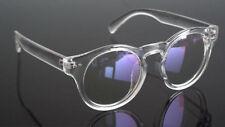 Hipster Indie Keyhole Vintage transparent Eyeglass frames Full Eyewear Round RX
