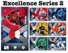 7 CARD RELIC SET-XCELLENCE SERIES 2-TOPPS SKATE 20 DIGITAL