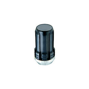 McGard 65340BK 4 Lug Nut Set Black 1/2-20 Pitch 1.60 Length