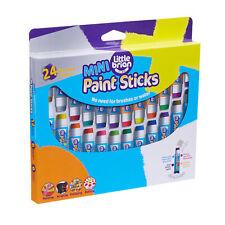 Little Brian Paint Sticks Mini Assorted Colours 24 Pack